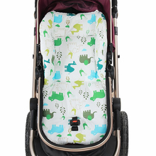 Cute Cartoon animal Comfortable Baby Stroller Cushion Stroller Seat,Thicken Polyester cotton Stroller Liner,Baby Chair Cushion