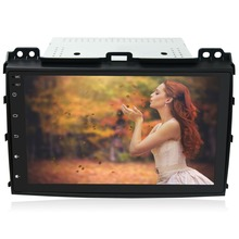 "9"" HD 1024*600 Android Car DVD Radio GPS Stereo Navi Player for Toyota Land Cruiser Prado 120 2004 2005 2006 2007 2008 2009"