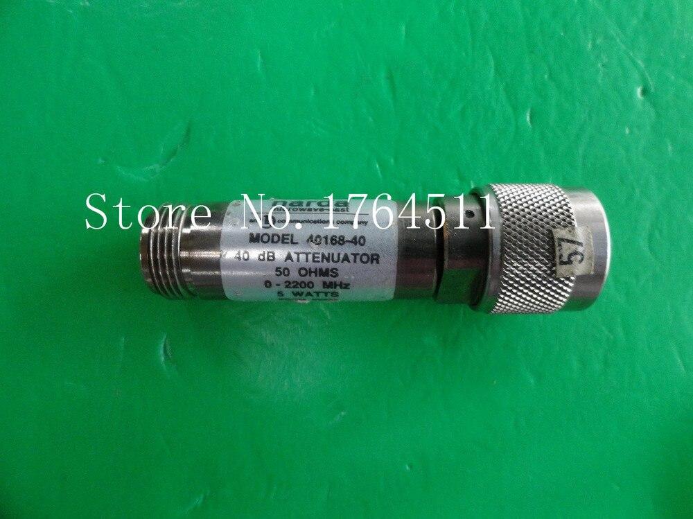 [LAN] NARDA 40168-40 DC-2.2GHz 40dB 5W N coaxial fixed attenuator<br><br>Aliexpress