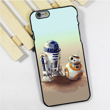 Fit for iPhone 4 4s 5 5s 5c se 6 6s 7 plus ipod touch 4 5 6 back skins phone case cover R2D2 Droid BB8 BB-8 Star Wars