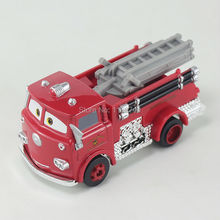 Pixar Cars Red Firetruck Diecast Metal Toy Car For Children Gift 1:55 Loose New In Stock