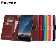 "Buy Doogee shoot 2 Case 5.0"" Cover Business Luxury Flip PU Leather Case Doogee shoot 2 Crazy Horse Wallet Phone Bags Cases for $4.74 in AliExpress store"