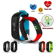 Buy P1 Smart Bracelet Heart Rate Monitor Blood Pressure Fitness Tracker Sport Smart Wristband Android IOS Phone PK mi band for $25.60 in AliExpress store