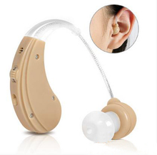 mini invisibility BTE ear loop Hearing Aids Hearing AIDS Adjustable Kit Free Shipping & Drop Shipping(China)