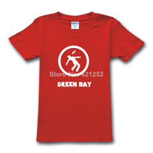Green Day Rock T-shirt Tee More Colors Mens Womens(China)