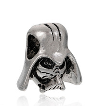 Buy DoreenBeads Zinc Based Alloy 3D European Charm Beads Helmet antique silver 14x13mm, Hole: Approx 4.5mm, 5 PCs for $1.43 in AliExpress store