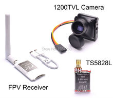 Mini 5.8G FPV Receiver UVC Video Downlink OTG VR Android Phone + TS5828L 48CH 600mW Transmitter + 1200TVL COMS 2.8mm Camera RC