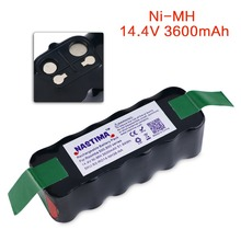 NASTIMA 14.4V 3600mAh Ni-MH Replacement Battery for Irobot Roomba Vacuum cleaner 500 600 700 800 Series [UL&CE Approval]