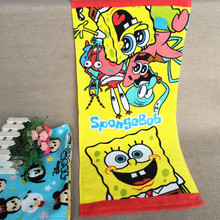 Cartoon Doll Sponge Baby Face Towels 35x75cm Hand Towel 001