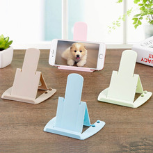 Universal Folding cell phone support Plastic holder desktop stand for your phone Smartphone & Tablet Support Phone holder(China)