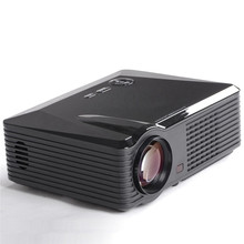 US Plug Portable Mini Wireless WIFI 1080P DLP LED Video Projector Android 4.4 3D Home Theater 10000:1 16:9 Full HD
