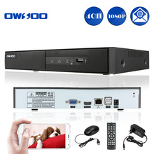 OWSOO HD 1080P 4CH NVR Network Video Recorder CCTV NVR H.264 P2P Onvif DVR 4CH Recorder For Home Security IP Camera System