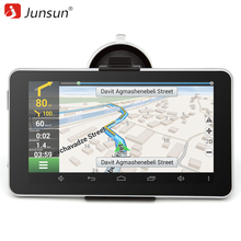 Junsun 7 inch Car GPS Navigation Android Bluetooth WIFI Russia Navitel/Europe map Truck Vehicle gps Navigator sat nav Built 16GB