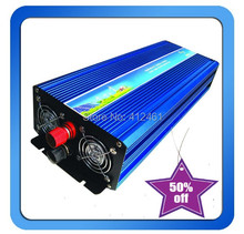 3000W Power Inverter Pure Sine Wave DC 24V to AC 220V Solar/Wind/Car/Gas Power Generation Converter PSW inverter(China)