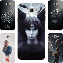 Game Of Throne House Stark Lannister Painting Case  For Samsung Galaxy A3 A5 2017 J5 J7 Prime A3200 A5200 Phone Printed Cover