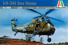 Out of print! Italeri Model Kit - UH-34J SEA HORSE Helicopter - 1:72 Scale - 1066 - New(China)