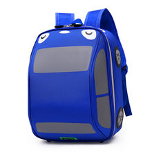 118f27eefe16 kindergarten Schoolbags boys Children School Bags 3D Car backpacks kids  backpacks for Baby preschool Backpacks Toddler