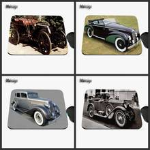 2017 Luxury Antique Car Custom Printed Design Multidimensional Game Anti-slide Rectangular Rubber Notebook Computer Mouse Pad
