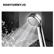 Hot Sall Efficient High Pressure Shower Head Water Saving Massage Nozzle Rainfall Bathroom Shower Head Handheld(China)
