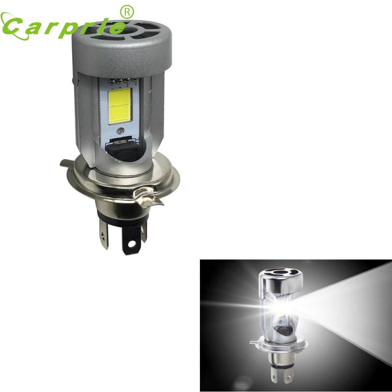 New Arrival 1PC H4 Bright White 20w COB LED Hi/Lo Beam Motorcycle Headlight Front Lamp or26<br>