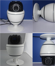 3.5 INCH MINI PTZ IR HIGH SPEED DOME CAMERA CCD 700TVL IP66 10xZoom(China)