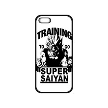 Training to go Super Saiyan Dragon Ball Z Case for iPhone 4 4S 5 5S 5C SE 6 6S Plus Samsung Galaxy  A3 A5 A7 2015 Note 5