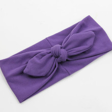 Cheap New Cotton Winter Headband for Woman and Girl Hair Fashion Turban Headband for Girl Headwear Top Knot Hairband 1 PC 80034