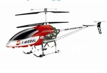 "EMS FREE SHIPPING 53"" Extra Large toys 134cm GT QS8006 2 Speed 3.5 Ch RC Helicopter Builtin GYRO Ready To Fly BIG Model toys(China)"