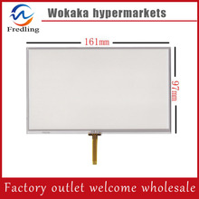 New 7 inch 4Wire Resistive Touch Panel Digitizer Screen For teXet TN-833 RDVR GPS Free shipping