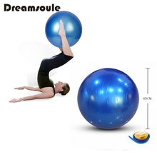 DREAMSOULE Exercise Gym Swiss Ball 65cm Anti-Burst Yoga Balance Ball with Foot Pump Yoga Ball Easily Storage(China)