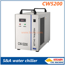 S&A CW5200 industry water chiller for cooling CO2 laser tube