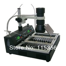 DHL free shipping PUHUI T870A 220V 1000W infrared soldering station(China)