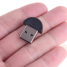 Mini USB 2.0 Bluetooth Adapter EDR Bluetooth Dongle Bluetooth PC USB Adapter for Laptop Mobile Phone Supporting Multi languages(China)