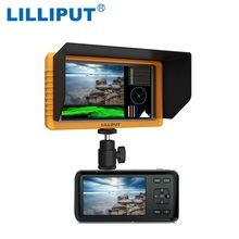 LILLIPUT Monitor Q5 5 inch 1920*1080 Full HD Monitor with SDI HDMI Cross Conversion Metal Housing High Resolution to Camcorder(China)