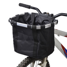 4 Colors Bicycle Basket Aluminum Alloy Bike Frame Pet Carrier Detachable Cycle Front Carrier Bag Goods Pet Carrier Bicicleta