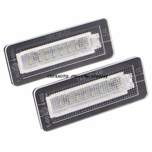 No Error Rear Led Number License Plate Light For Mercedes Benz Smart Fortwo Carossblade Cabriolet Coupe W450 W451 W453(China)