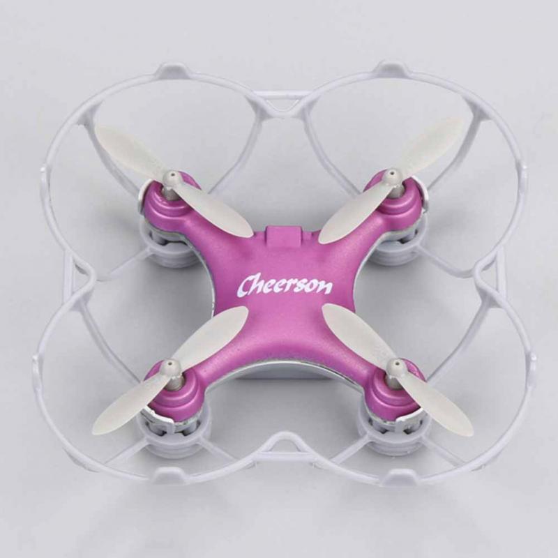CHEERSON CX-10SE 2.4G 4CH 4-Axis remote control Gyro Mini Drone UFO with LED Lights RTF RC Quadcopter mini small aircraft