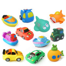 Transportation Baby Squeaky Toys Baby Children Bath Toys Spray Kids Water Bathroom Swimming Pool Play Game Sand Toys Jouet Plage