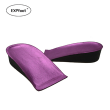 1 Pair height increase insoles 3cm up arch support orthopedic insoles health and beauty shoe for women accessories Cloth bag 458(China)