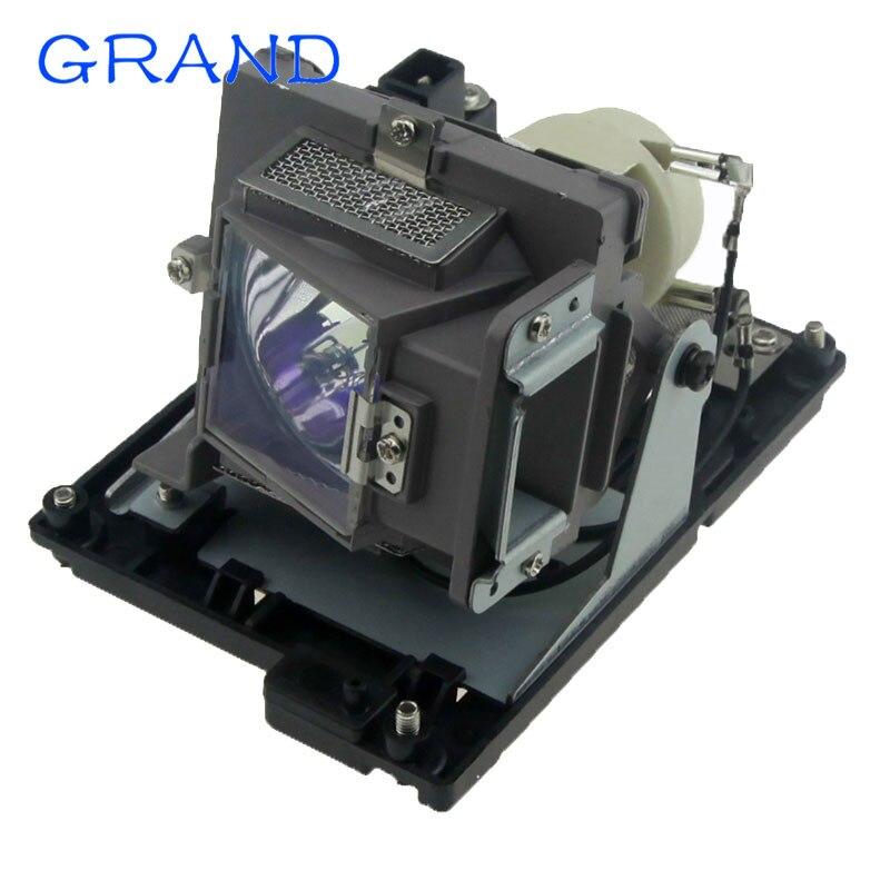 Replacement Projector Bulb 5811116713-SU Lamp for Vivitek D853W D851 D855ST D857WT D858WTPB D856STPB  with Housing Happybate<br>