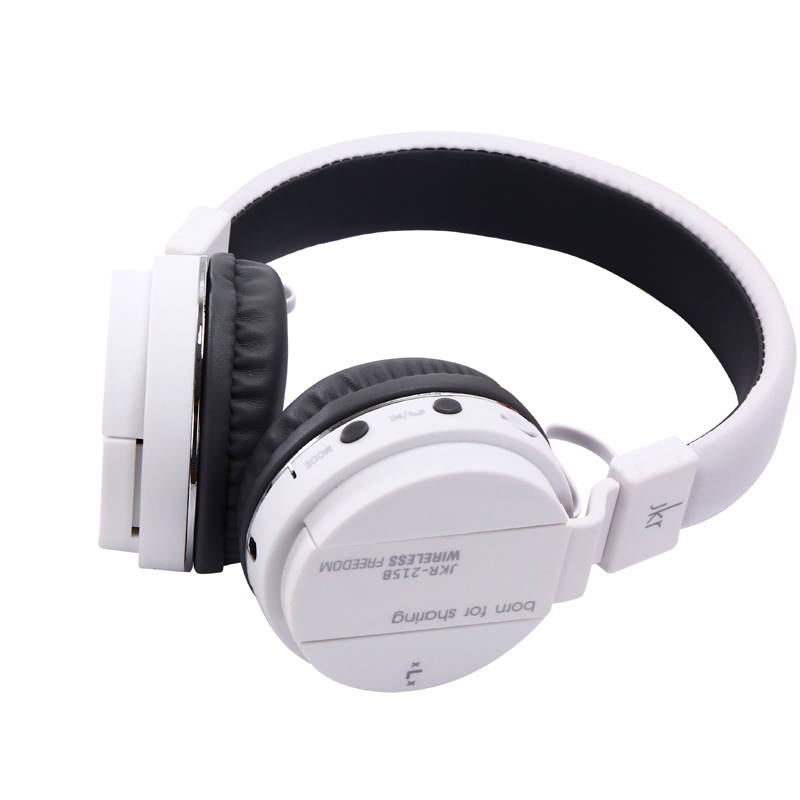 Portable Wireless Bluetooth Headphone MP3 For iPhone 6s 6 Headphones With Radio FM Micphone Earphone Foldable Headset 250mA