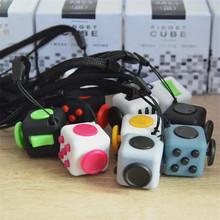 New 11 Types Best Mini Fidget Cube Toys Fun Anti Stress Reliever Puzzle Cube Toy Gift for Adult Children
