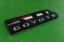 Auto Black 5.0 Coyote for 11-14 Mustang GT F-150 Boss 302 Emblem Badge Sticker