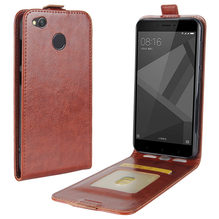 Magnetic Flip Cover Xiaomi Redmi 4x 4 Prime Case EVOLOU Luxury Vertical Leather Case Redmi 4X 4 Pro Phone Bag & Coque