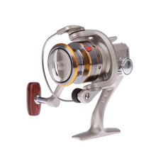 6BB Ball Bearings High Power Gear Spinning Spool Aluminum Fishing Reel SG1000 Silver