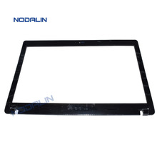New  Laptop Front From Screen Bezel LCD Shell /Cover /Lid For Lenovo G480 G485 Black Color Plain Version 60.4SG07.011