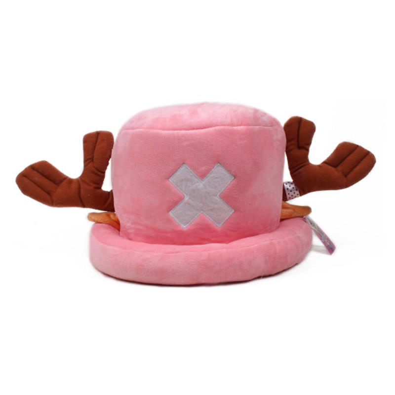 Coshome One Piece Luffy Yellow Straw Boater Beach Hats Tony Chopper Trafalgar Law White Plush Cap Ace Orange West Cowboy Hats (4)