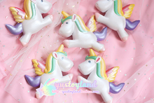 High Quality Super Slow Rising Squishy Bling Unicorn Kawaii Cute Phone Strap Pendant Bread Cake Cream Scented Kid Toys Wholesale