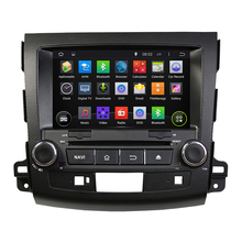 "8""Quad Core 1024x600 Android 5.1.1 Car DVD for Mitsubishi Outlander 2006-2012 BT Wifi RDS support 3G DAB DTV Free map camera"