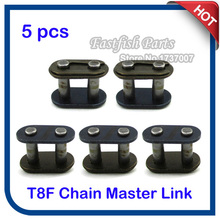 5pcs/pack T8F Chain Spare Master Link For 43cc 47cc 49cc 2 Stroke Mini ATV Quad Dirt Super Pocket Bike Motorcycle Motocross